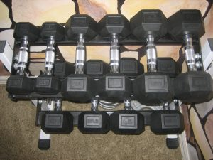 dumbbell-set